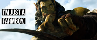 World of Warcraft Movie, An orc with braids sharpens a weapon