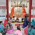 गिद्धौर : कोरोना पर भारी श्रद्धालुओं की आस्था, दुर्गा मंदिर के संध्या आरती में जुट रही भीड़