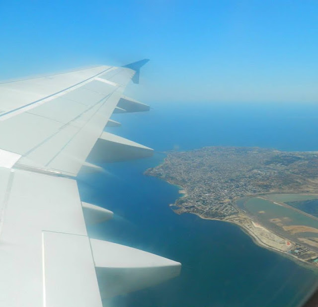 #BEDN : There Are Two Types Of Photos I Always Take On Holiday... - in a plane leaving Tunisia