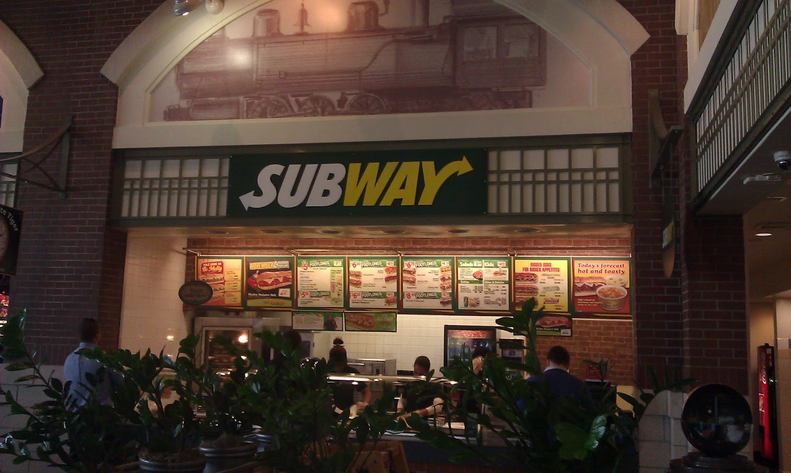 Android S Dungeon Bowie Restaurant Project Top 6 Subway