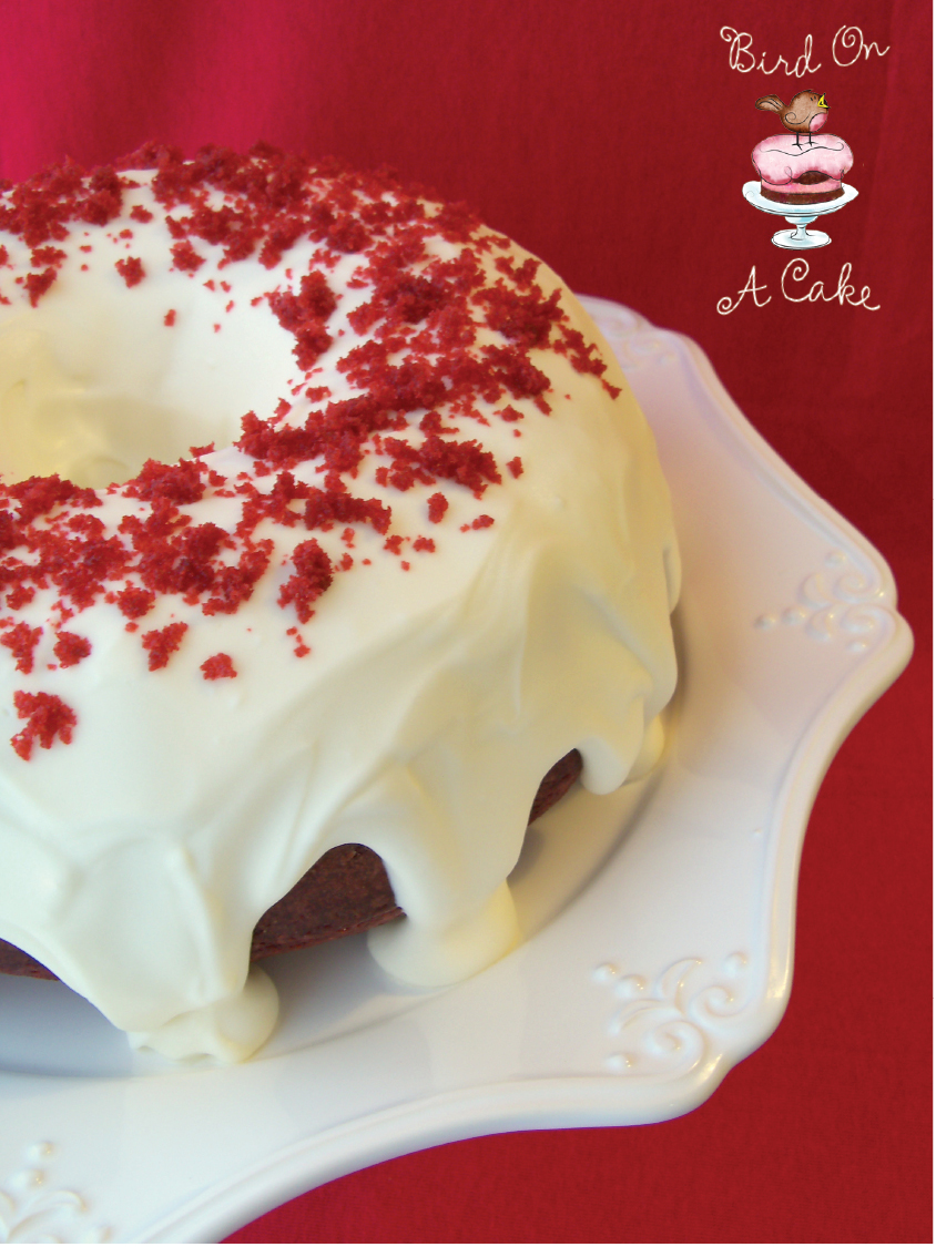 Bird On A Cake Red Velvet Bundt Cake
