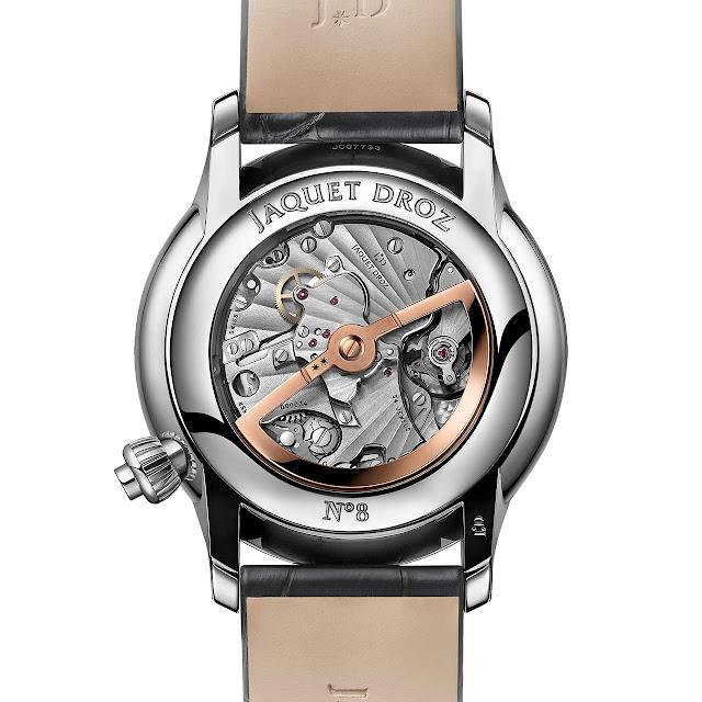 Jaquet Droz Grande Seconde Off-Centered Chronograph Onyx ref. J007830270