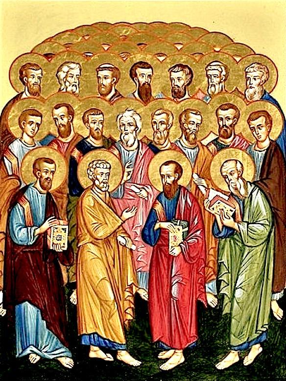 Собор 70-ти апостолов.