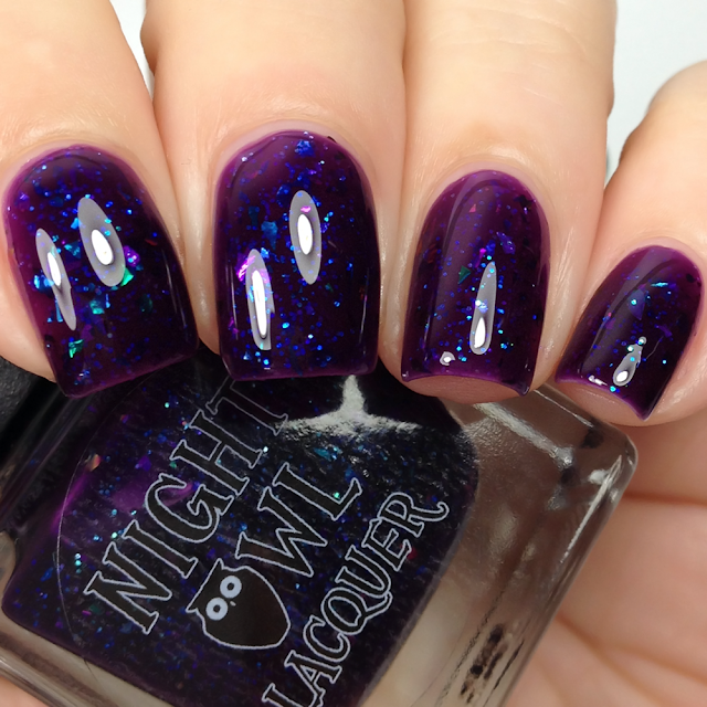 Night Owl Lacquer-Heart of a Witch