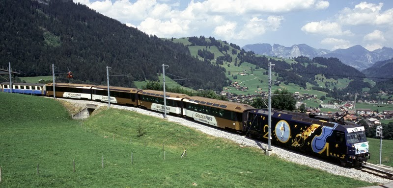 The Chocolate Train, Switzerland - Top 10 Train Routes in Europe