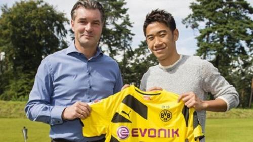 Tiền vệ người Nhật Shinji Kagawa quyết định quay trở lại Dortmund