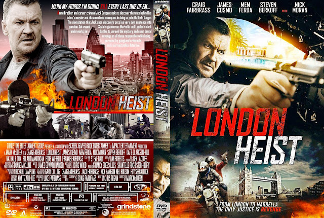 London Heist DVD Cover