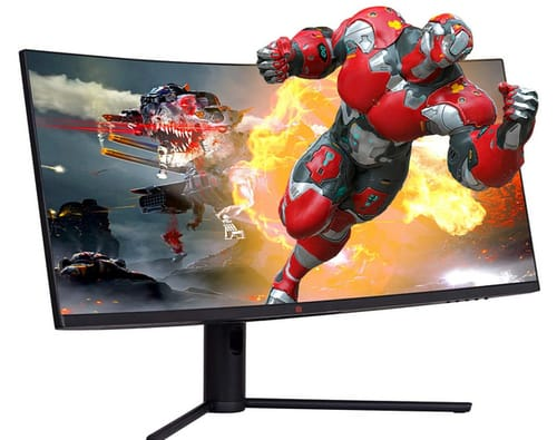 Deco Gear 34 21:9 144Hz HDR10 Ultrawide Curved Monitor