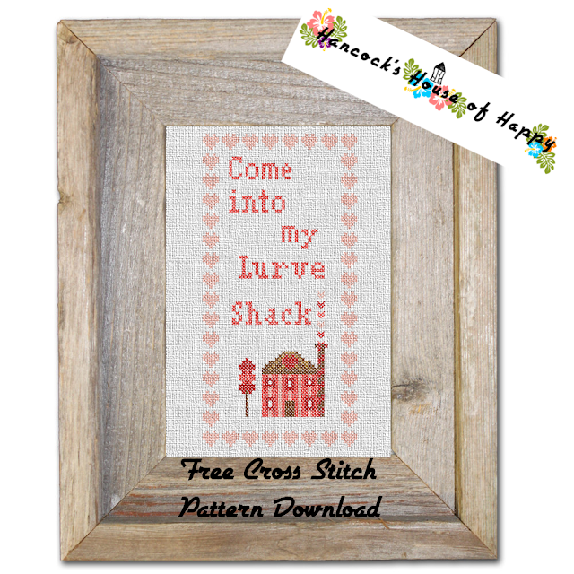 Free Valentine House Sampler Cross Stitch Pattern to Download