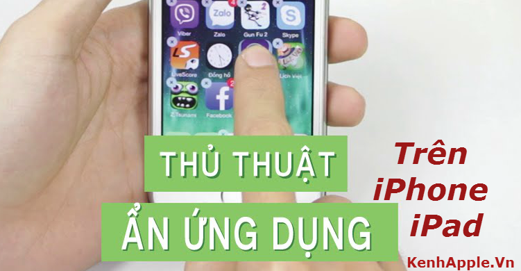 an ung dung tren iphone