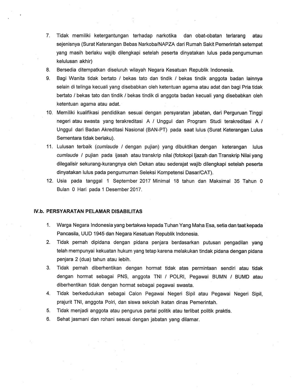 Rincian Formasi Dan Link Pendaftaran CPNS Kabupaten Samosir Pelamar Umum