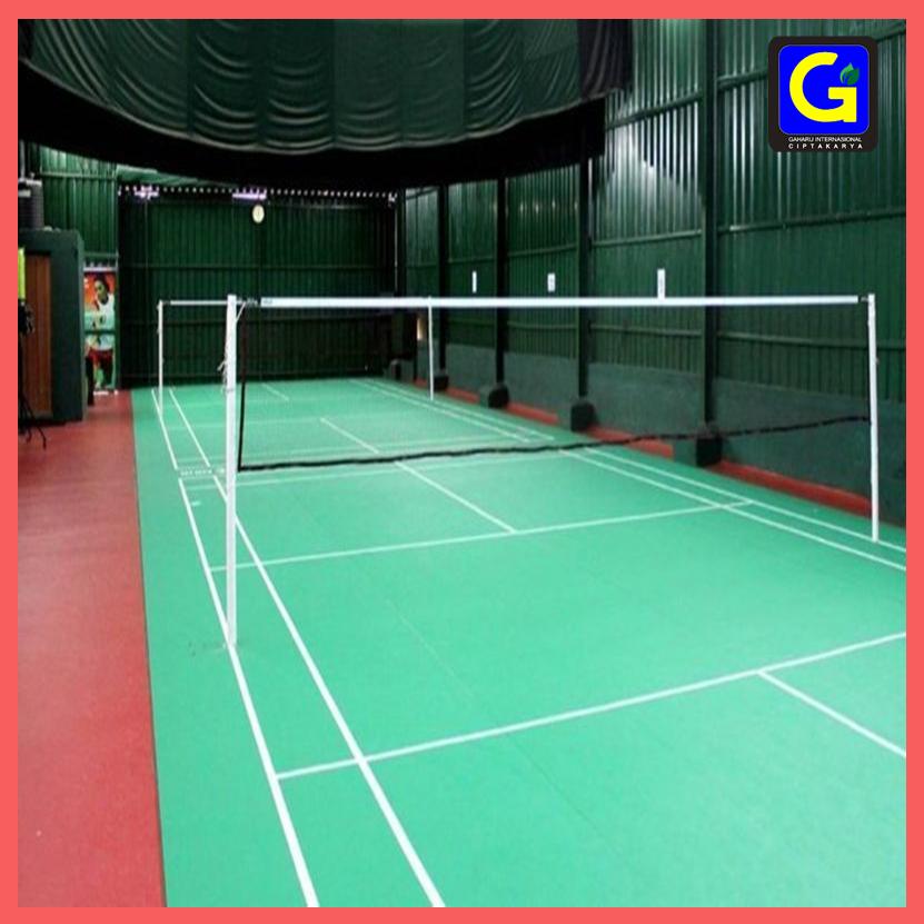 Tiang Net Badminton Tanam
