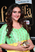 Sridevi Telugu Actressi in green Yellow Anarkali Dress at IIFA Utsavam Awards 010.JPG