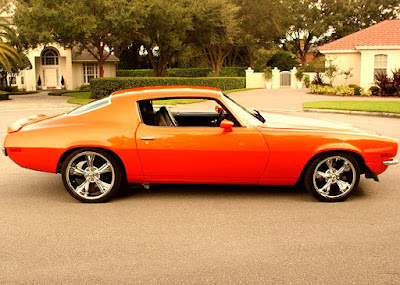 1973 Chevrolet Camaro Z28 2-Door Coupe Side Right
