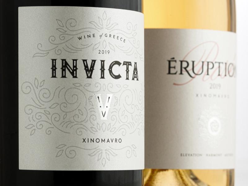 Éruption and Invicta Wine