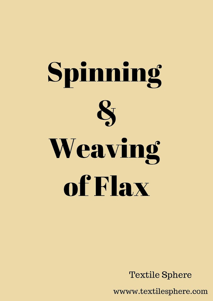 Spinning and Weaving of Flax