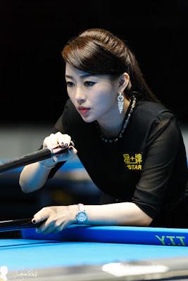 pemain biliar wanita asia terhebat