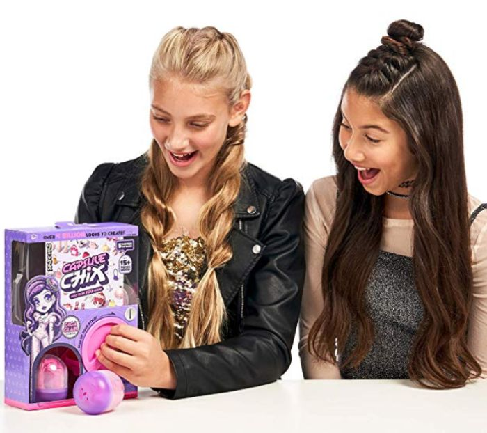 Capsule Chix machine with blind bags