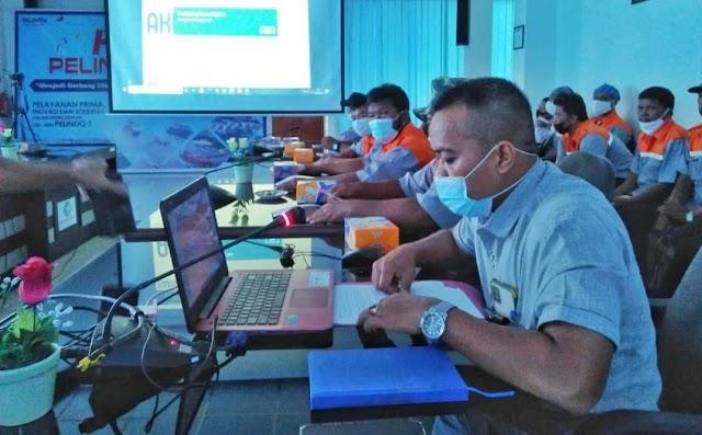 PT.Pelindo 1 (Persero) Cabang Dumai Adakan Basic Safety Training