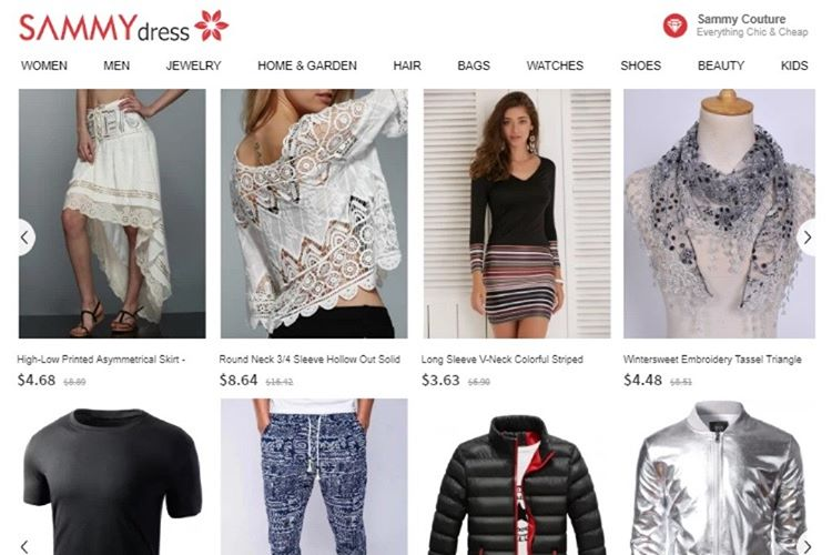 En Güvenilir Çin Alışveriş Siteleri - Sammydress