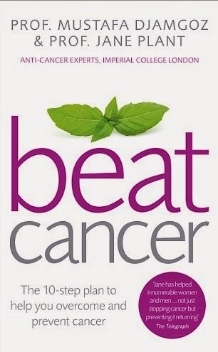 Beat Cancer book by Prof Jane Plant