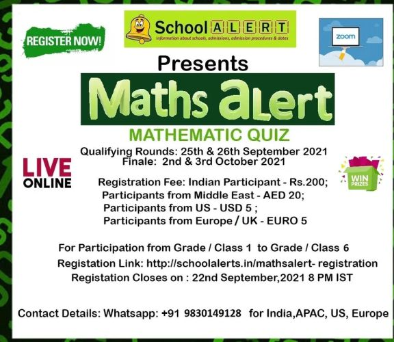 Mathematics Contest for Students