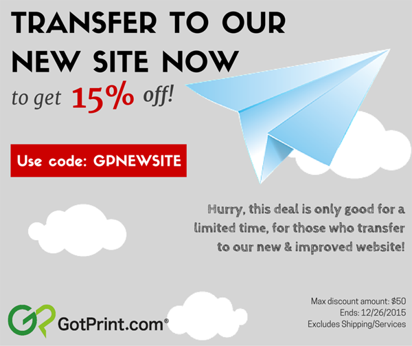 Save $$$ with the latest 9 GotPrint Coupons December And click our deal to get stackable savings. We are glad that you can save money by using our Promo Codes and Discount Codes.