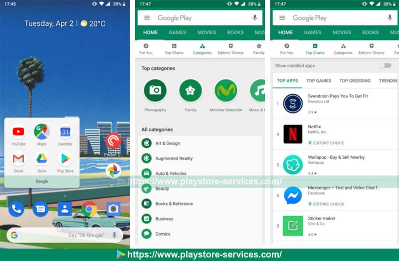 كيفية تصفح التطبيقات والألعاب على متجر Google Play