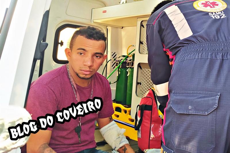 Na foto: Adão dos Santos Lopes, de 25 anos