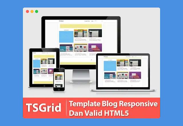 Ts Grid HTML5 Blogger Template!