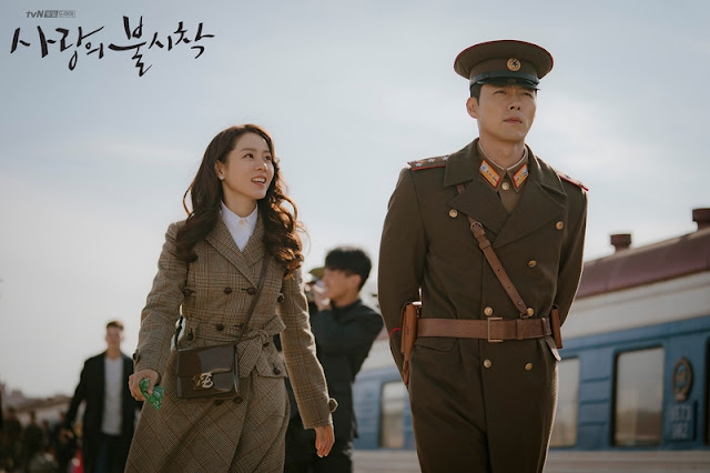 Hyun Bin dan Son Ye Jin di Crash Landing on You