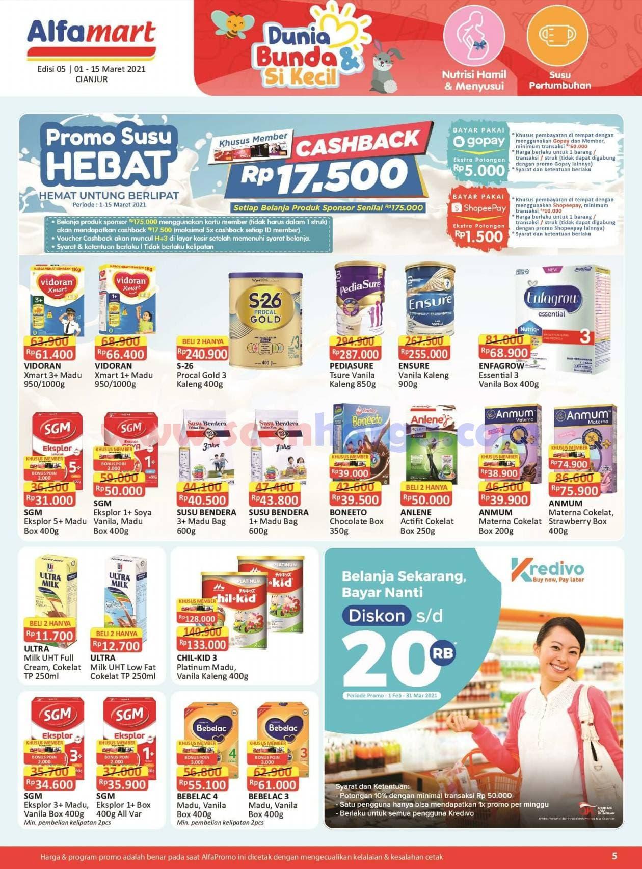 Katalog Promo Alfamart 1 - 15 Maret 2021 5