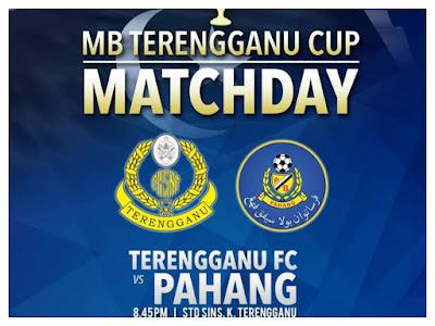 Live Streaming Terengganu vs Pahang MB Terengganu Cup 15 Januari 2018