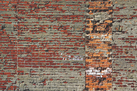 brick wall, urban photography, urban photo, contemporary photography, art, red bricks, urban photo, Sam Freek,