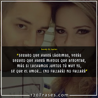 Frases de Sandy & Junior 06