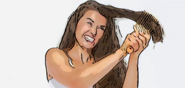 4 وصفات سهلة لفك تشابك الشعر بشكل طبيعي, وصفات سهلة لفك تشابك الشعر بشكل طبيعي,فك تشابك الشعر بشكل طبيعي,فك تشابك الشعر