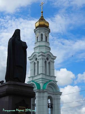 Ростов-на-Дону памятник святителю Дмитрию Митрополиту