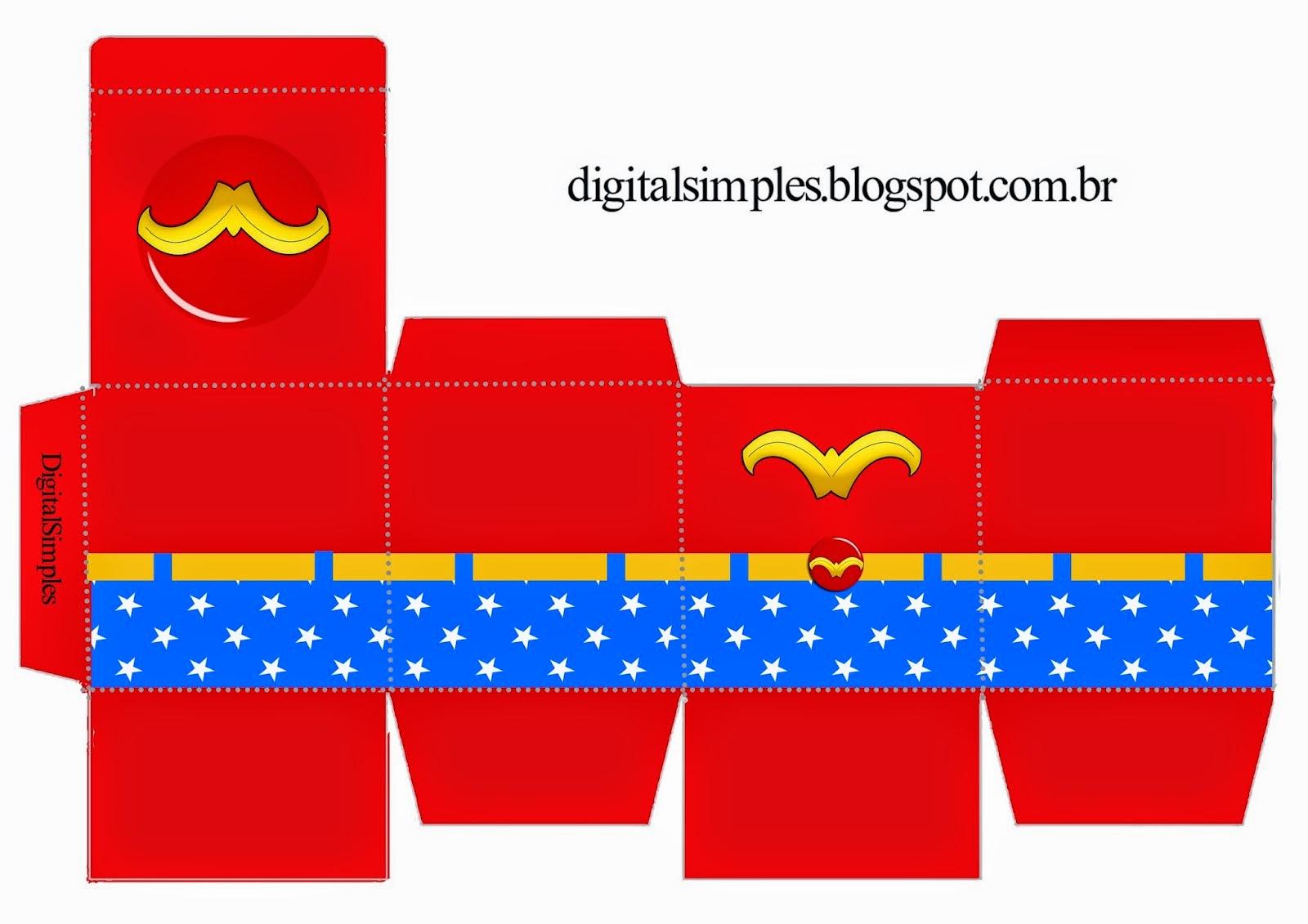 Cajas Cubo de Super Héroes para Imprimir Gratis.   Oh My ...