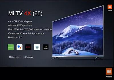 Mi 4X 65 inch TV
