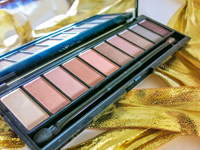 L'Oreal La Palette Nude Rose Eye Shadow Review Drugstore