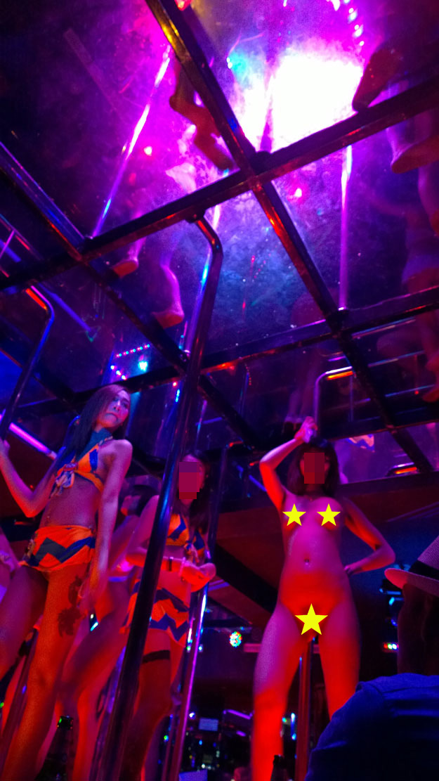 Stripclub and gogo dancer fucked by manager in loan porn - 3 part 4