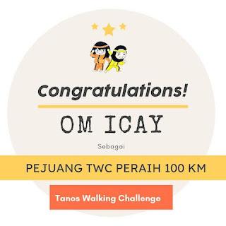 100 km January 2021-Om Icay