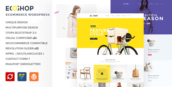 ECOSHOP v2.0 – Multipurpose eCommerce WordPress Theme