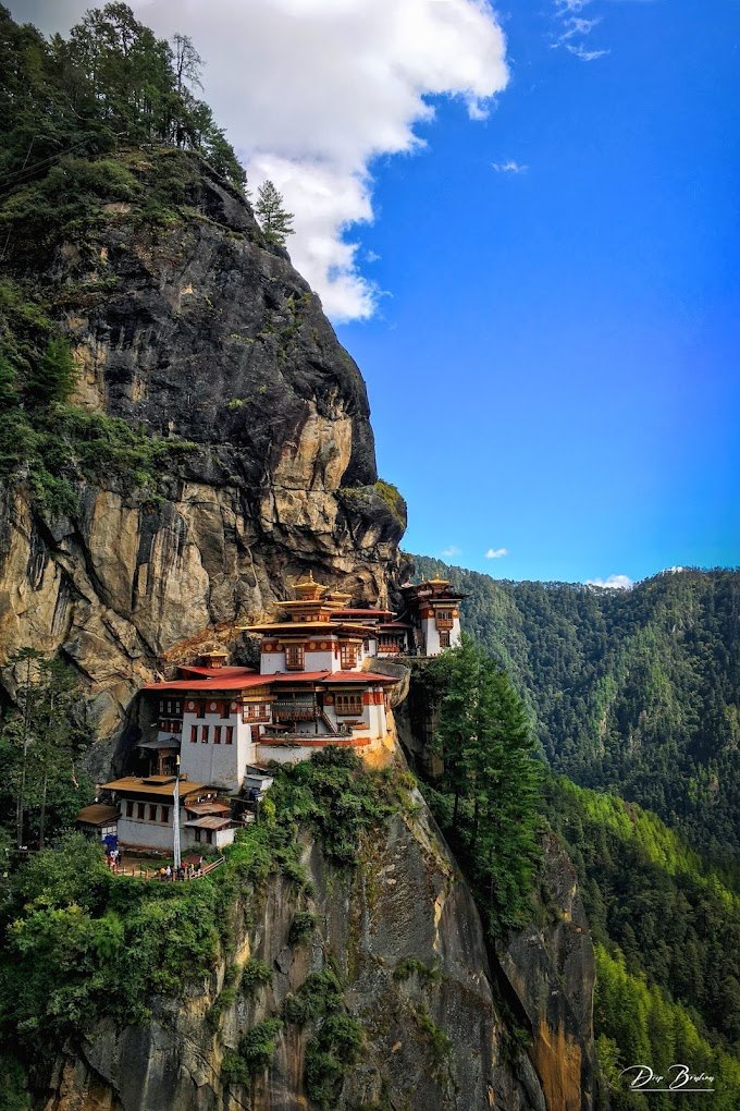 Beautiful Tigernest Paro,Bhutan