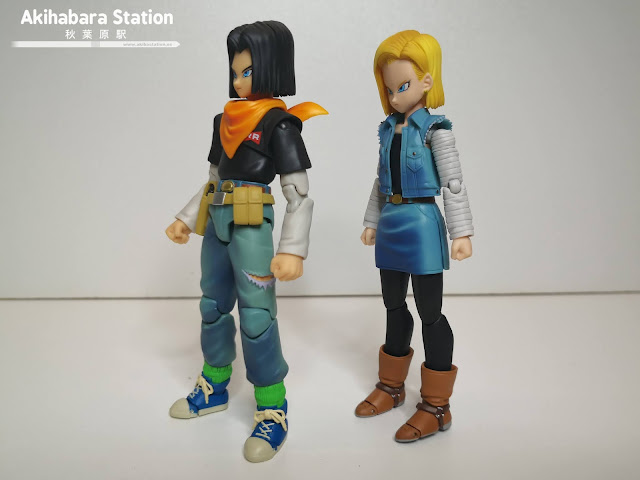 S.H.Figuarts Android 17 y Android 18 - Event Exclusive Color Edition - de Dragon Ball Z - Tamashii Nations