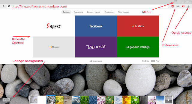 yandex browser for linux stable
