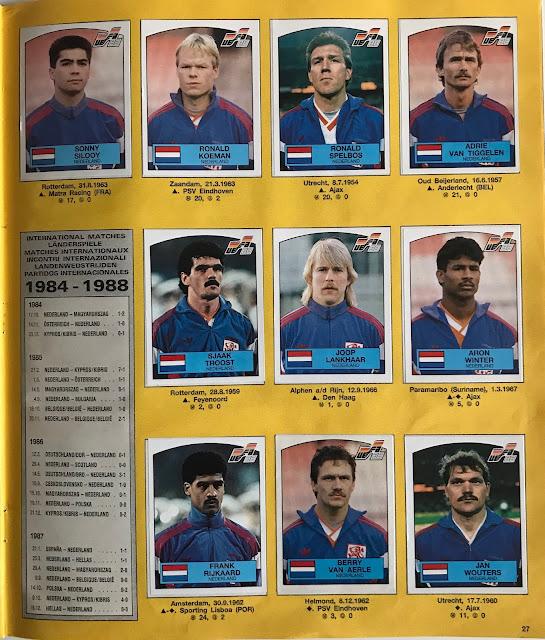 Figurine Olanda Euro 88