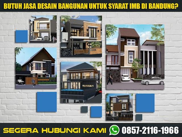 Jasa Desain Bangunan untuk Kelengkapan IMB Area Bandung Raya