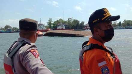 Kapal Milik Kemenkumham Tenggelam di Nusakambangan