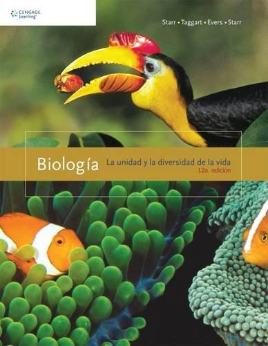 Biología: La unidad y la diversidad de la vida, 12va Edición – Starr, Taggart, Evers y Starr